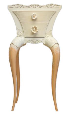 Meuble peint - Mobilier Féminin - Robe de mariée